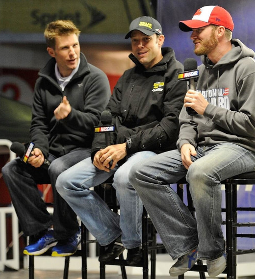 Jamie McMurray, Matt Kenseth and Dale Earnhardt Jr will all have their chance at a title this season
