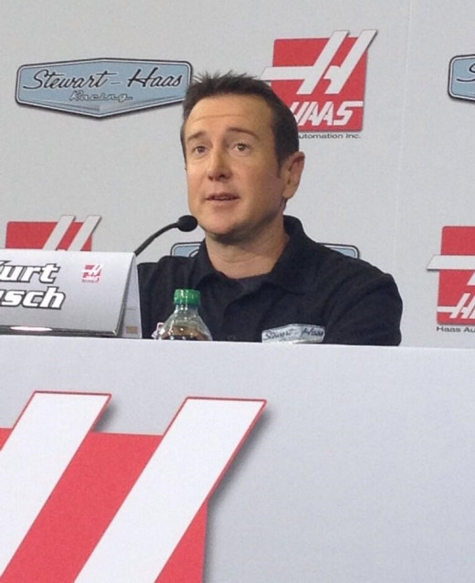 With his move to Stewart-Haas Racing, Busch will once again be front and center in NASCAR's media spotlight