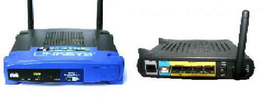 Pictured Above: Common Routers