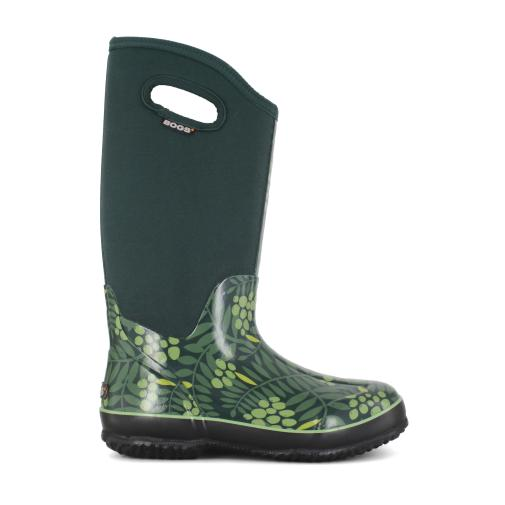 These neoprene winter boots are rated to -40 Fahrenheit.  And the women's version come in cute colors.