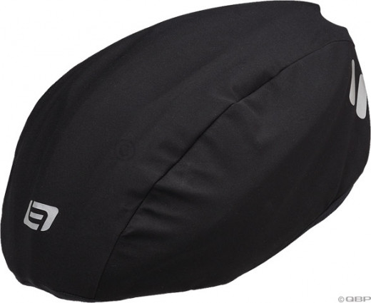 Bellweather rain cover for helmet, blocks rain and wind