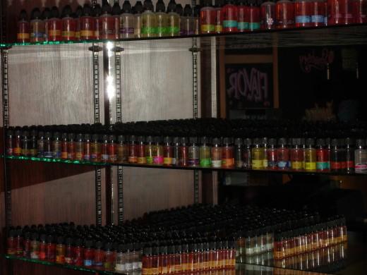 Lots and lots and lots and lots of flavors!