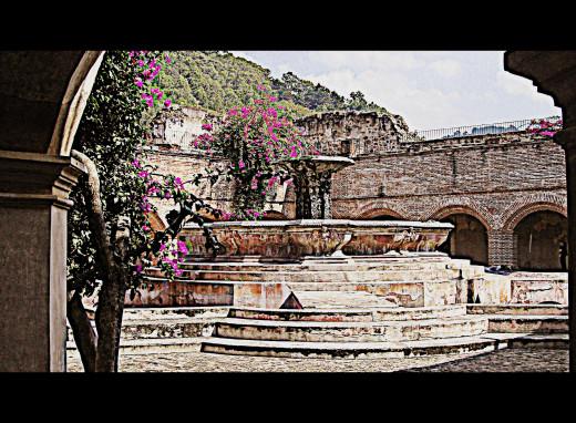 Convento de Nuestra cloister