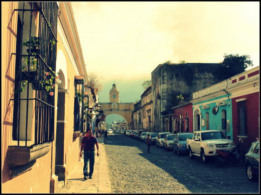 Guatemala's iconic structure, the Antigua arch