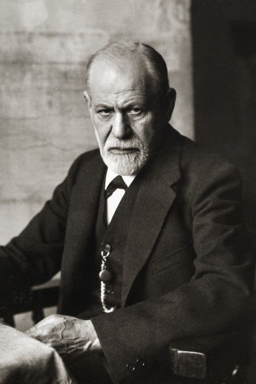 Sigmund Freud stares judgmentally. He knows what you have been up to. He also knows what it really means.