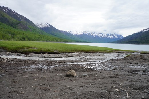 Lake Eklutna.  Where Anchorage gets its water.