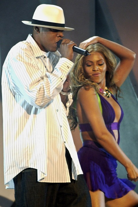 Beyonce and Jay - Z on stage together