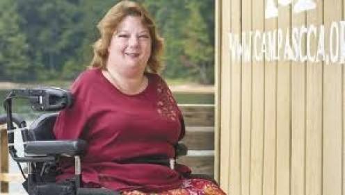 Allison Wetherbee is a true inspiration to people with and without disabilities.
