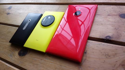 Lumias, 800,1020 & 1520