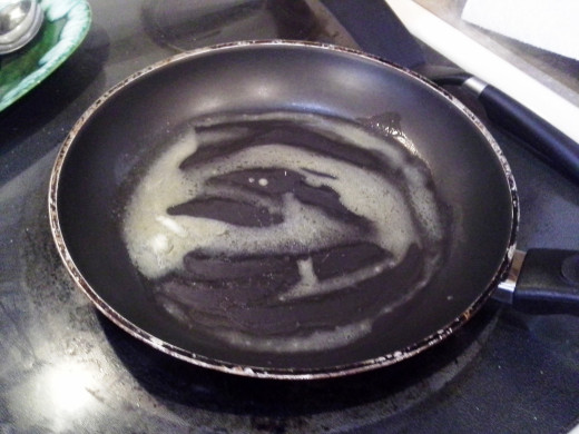 Step Eleven: Heat your skillet to medium