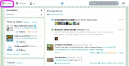 """The """"@ Connect"""" menu shows you your @replies, @mentions, and all other activity related to you."""