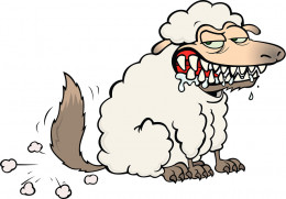 Wolf in Sheep Clothing - the Federal Government is known to disguise itself as non-threating.
