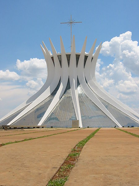 """""""Cathedral of Brasilla, hyperboloid structure"""""""