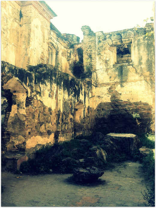 Ruins of the Cathedral de Santiago