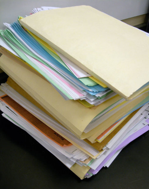 A bunch of files