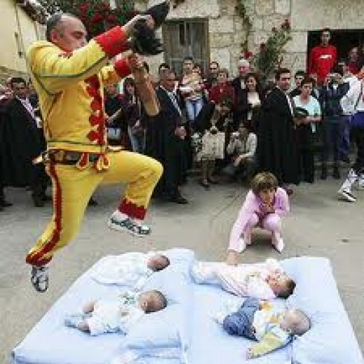 Baby Jumping Festival - Spain