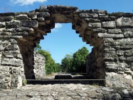 You don't need to leave the island in order to see Mayan Ruins. The San Gervasio ruins are easily accessible by car on Cozumel.