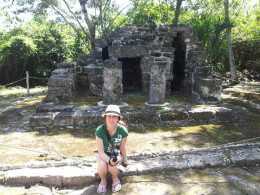 The San Gervasio Mayan Ruins on Cozumel were home to the Mayan goddess of fertility, called Ixchel