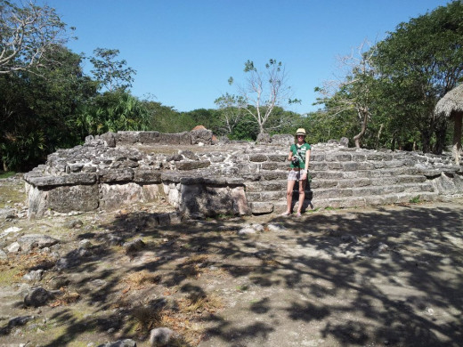 Bring plenty of water with you when visiting the San Gervasio ruins. There isn't a lot of shady places available and it gets quite hot.