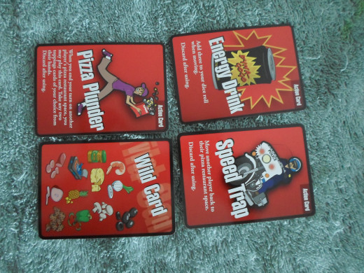 Action cards.