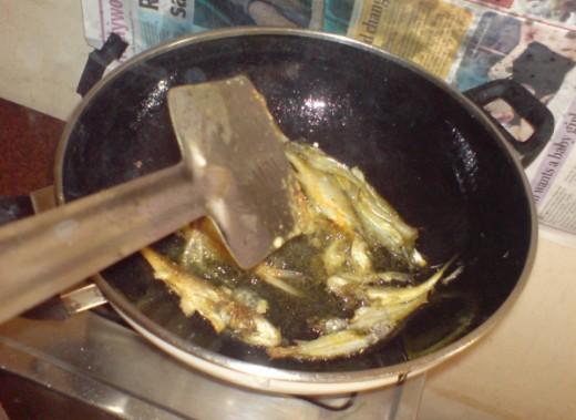 fry tangra fish