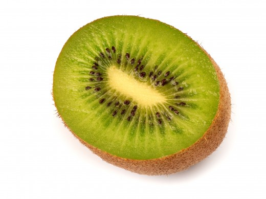You need one kiwifruit a day to get your recommended daily intake of vitamin C