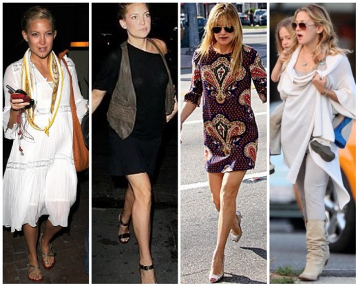Kate Hudson is a great example of the modern Free Spirit!