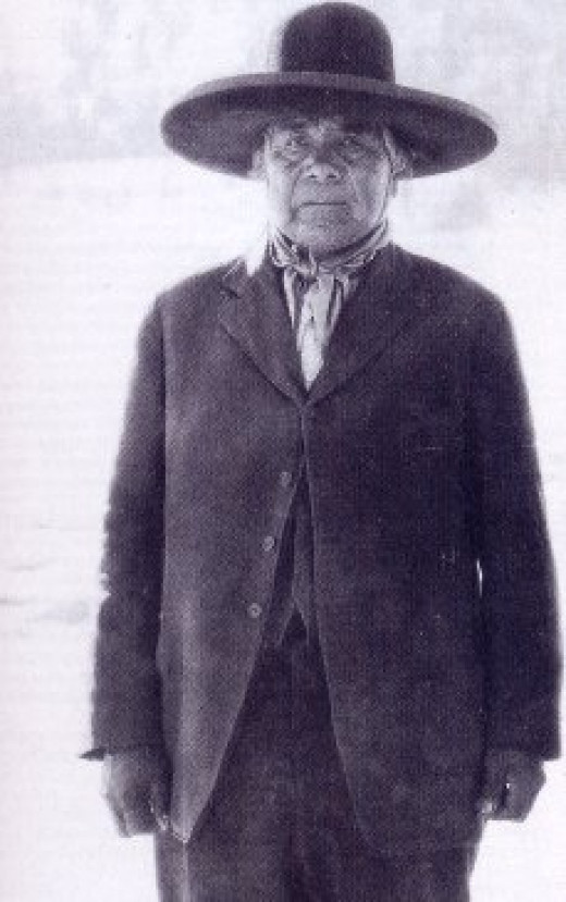 Wovoka was the creator of the Ghost Dance Paiute. He was a Paiute shaman