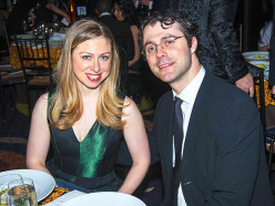 Has anyone heard mention of this in any of the media?The picture is of Marc and Chelsea Mezvinsky.