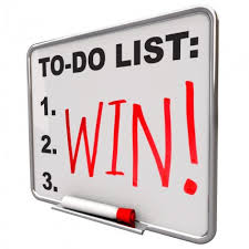 Winning is on everyone's to-do list!