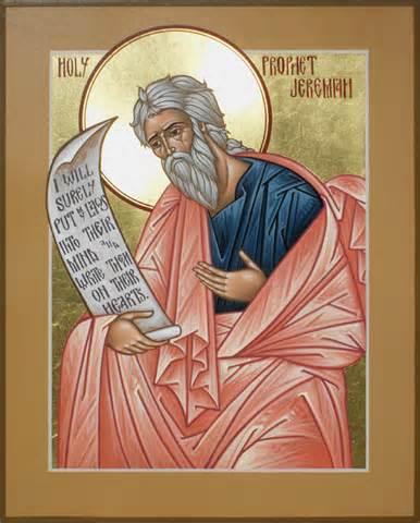 Prophet Jeremiah, by Matttew Garrett