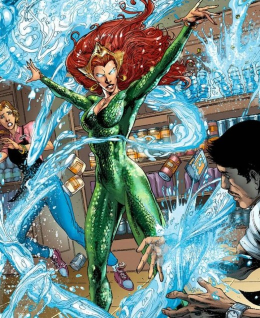 Mera in one of her costumes.