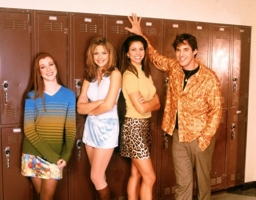 Willow, Buffy, Cordelia, Xander