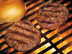 Why do hamburgers taste so much better charbroiled than when they are prepared other ways?