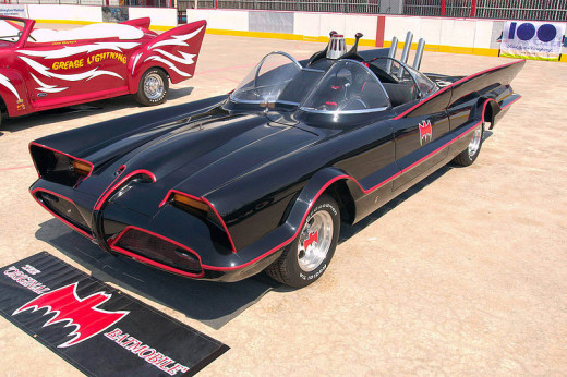 1960s Lincoln Batmobile, Drivers - Batman and Robin