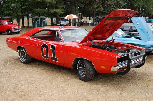 1969 Dodge Charger - General Lee - Drivers - Dukes (I actually saw this car)