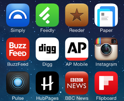 Great news feed apps for IOS 7