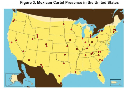 The Cartels in the US