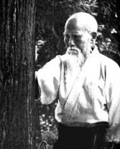Practising aikido