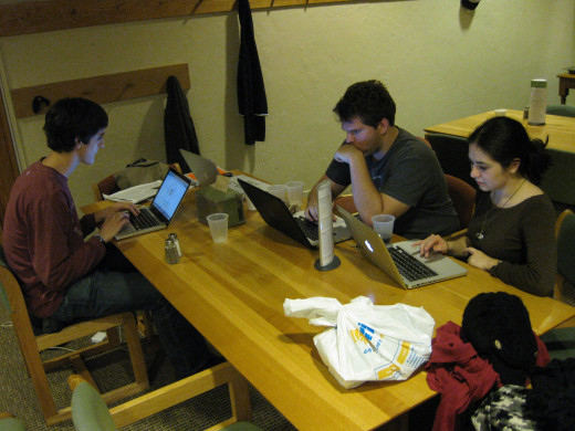 Study groups can be effective. Then again the temptation to socialise may be overwhelming.