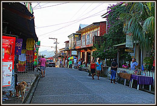 Shopping on the main street of Livingston