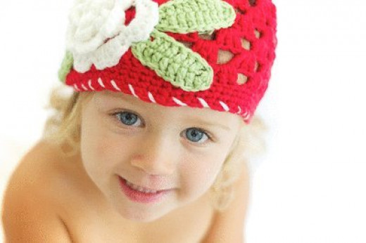 Crochet Flower Hat Can Be a Wonderful Easter Gift for the Little One