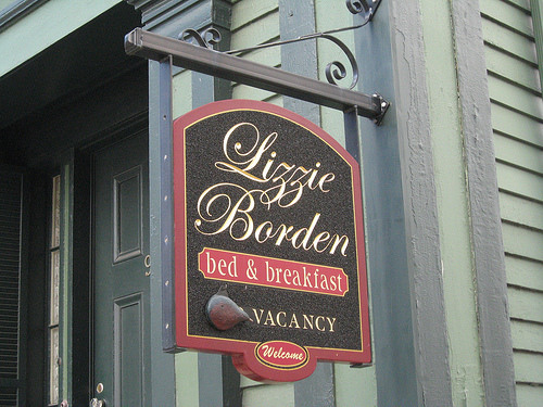 The Lizzie Borden Bed & Breakfast, 230-2nd St., Fall River, Massachusetts. (508)675-7333
