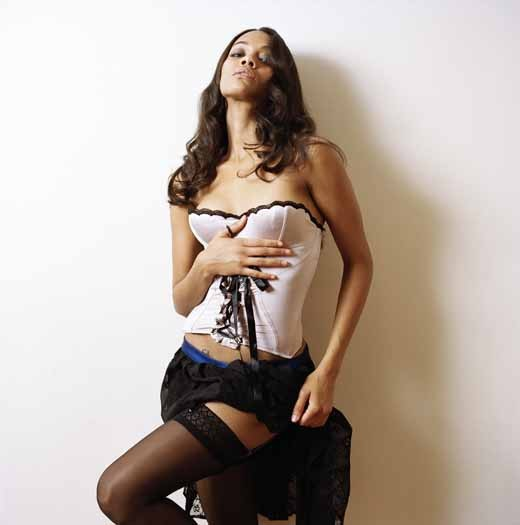 Zoe Saldana Unknown Sexy Photo Shoot
