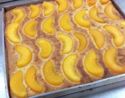 Making Peach Truffle at Home