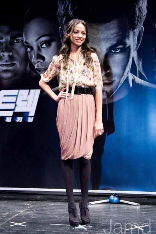 Zoe Saldana promo pic
