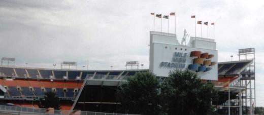 Mile High Stadium; Denver, Colorado. (1948 - 2002)