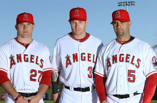 Albert Pujols, Josh Hamilton and Mike Trout will be catalysts for the success of the 2014 Angels.