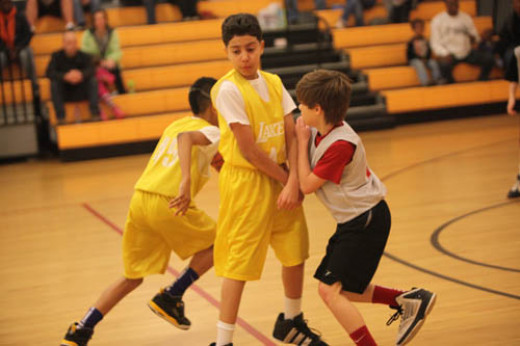 Setting picks is a good way for young players to contribute and get into the flow of basketball games.