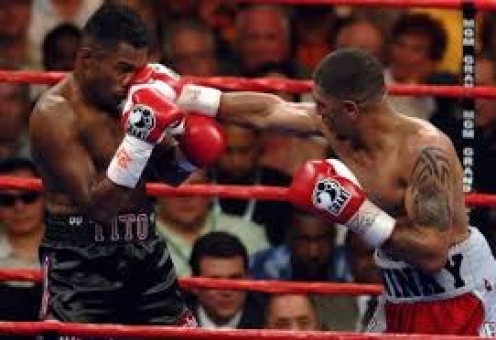 Winky wright used his southpaw jab to beat Felix Trinidad in a one sided 12 round decision. Winky also had a strong defense and southpaw footwork.